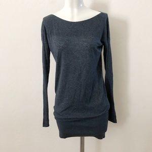 Theory Blue Sweater Dress